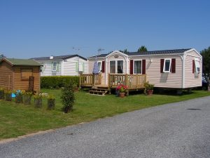 Location MobilHomes - Camping Le Canada - Saint Marcouf